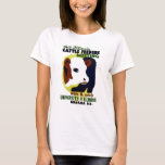 14th Illinois Cattle Feeders Meeting - WPA Poster T-Shirt