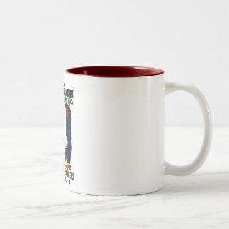 14th Illinois Cattle Feeders Meeting - WPA Poster Two-Tone Coffee Mug
