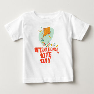 14th January - International Kite Day Baby T-Shirt