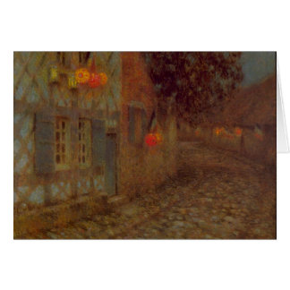 14th July by Henri Le Sidaner Greeting Card