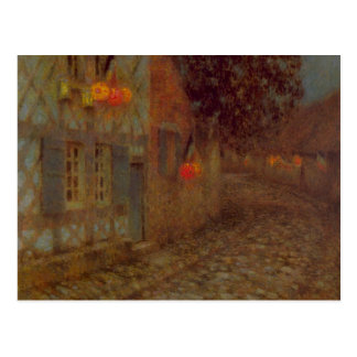 14th July by Henri Le Sidaner Post Cards