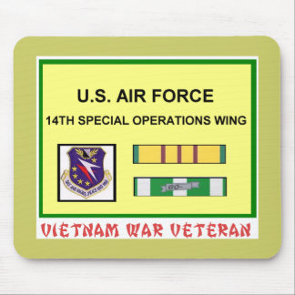 14TH SPECIAL OPERATIONS WING VIETNAM VET MOUSE PAD