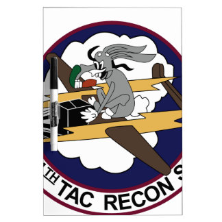14th TACTICAL RECON SQUADRON LINEBACKER II 4.5 Dry-Erase Whiteboard