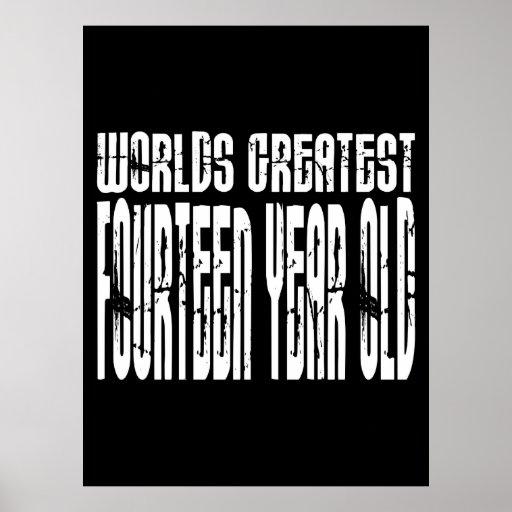 14to Cumpleaños: Años más grandes de los mundos Póster