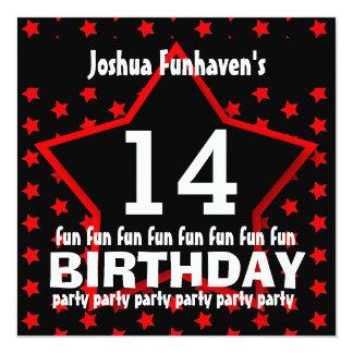 14to Fiesta de cumpleaños o cualquier ESTRELLA Comunicado Personal