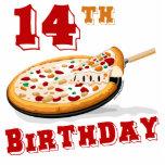 14to Fiesta de la pizza del cumpleaños Esculturas Fotograficas
