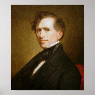 14to presidente de Franklin Pierce Póster