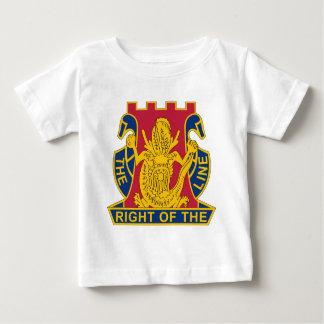 14to Regimiento de infantería - la derecha de la Playera Para Bebé