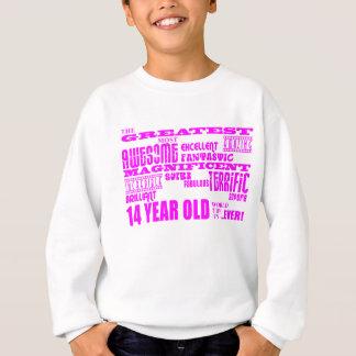 14tos cumpleaños de los chicas: 14 años más sudadera