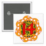 14tos regalos de cumpleaños el flamear pin