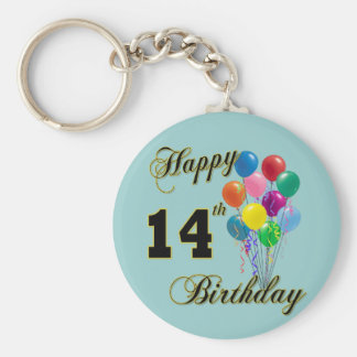 14tos regalos de cumpleaños y ropa felices del cum llavero personalizado