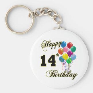 14tos regalos de cumpleaños y ropa felices del cum llavero