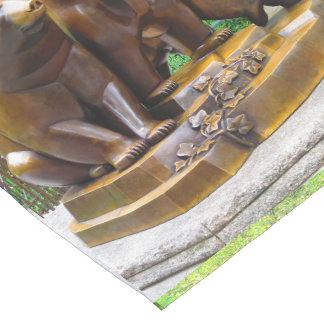 """14x72"""" Table Runner Bears Animal Statue New York Short Table Runner"""