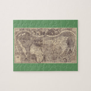 Old world map jigsaw puzzles zazzle 1507 martin waldseemuller world map jigsaw puzzle gumiabroncs Gallery