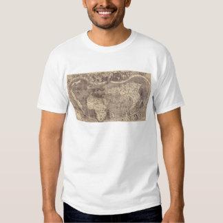 1507 Martin Waldseemuller World Map T-Shirt
