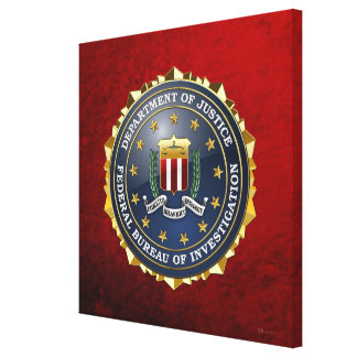 [150] FBI Special Edition Canvas Print