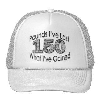 150 libras de gorra perdido