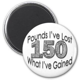 150 libras de imán perdido