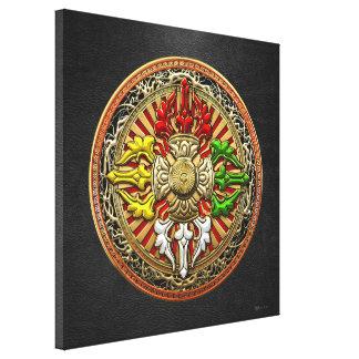 [150] Mandala doble tibetana de Dorje Lona Envuelta Para Galerías