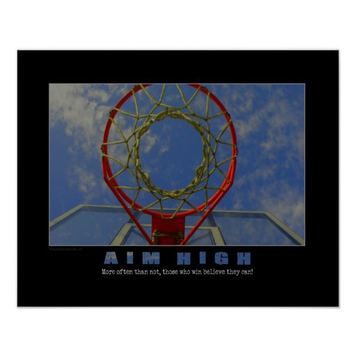 #150 (Matte) Basketball Poster