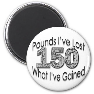 150 Pounds Lost Magnet