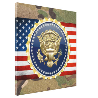[150] Presidential Service Badge [PSB] Gallery Wrap Canvas
