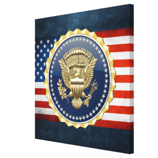 [150] Presidential Service Badge [PSB] Canvas Print
