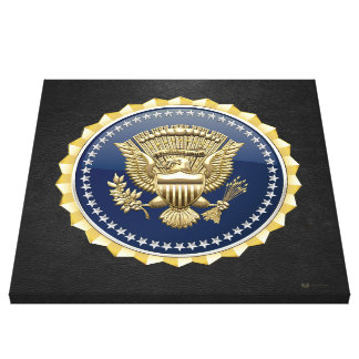 [150] Presidential Service Badge [PSB] Stretched Canvas Prints
