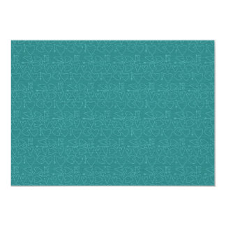 150 TEAL SKETCHY HEARTS BACKGROUNDS TEMPLATE TEXTU CARD