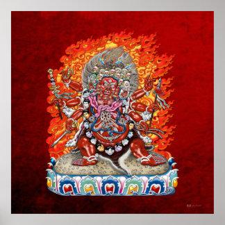 [150] Tibetan Thangka  - Wrathful Deity Hayagriva Posters