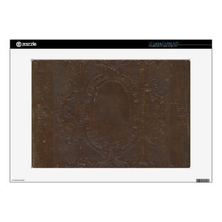 150 Year Old Grungy Book Cover Decals For Laptops