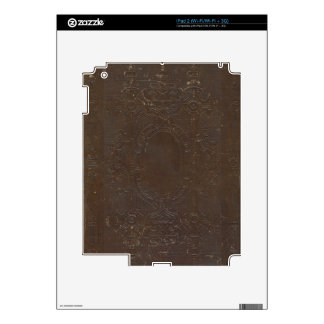 150 Year Old Grungy Book Cover iPad 2 Skin