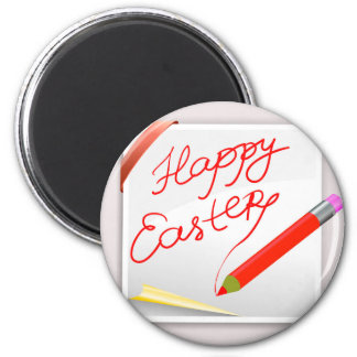 150Happy Easter_rasterized Magnet