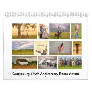 150o calendario de la reconstrucción del