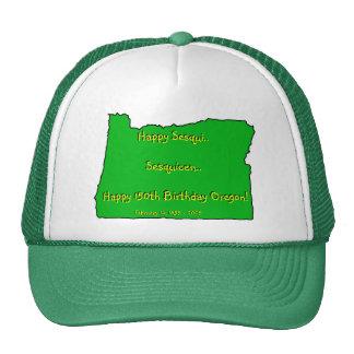150o gorra del cumpleaños de Oregon Sesquicentenni