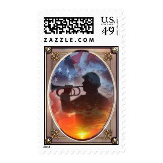 150o sello conmemorativo de la guerra civil