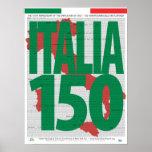 150o Unificación del aniversario del poster de Ita