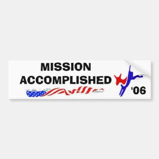150px-Democratslogo.svg, FLAG2, FLAG2, MISIÓN… Pegatina Para Auto
