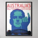 150th Anniversary Australia Poster