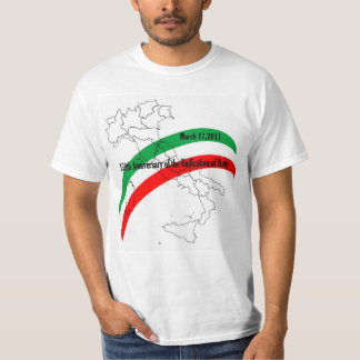 150th Anniversary of the Unification of Italy Tee Shirt