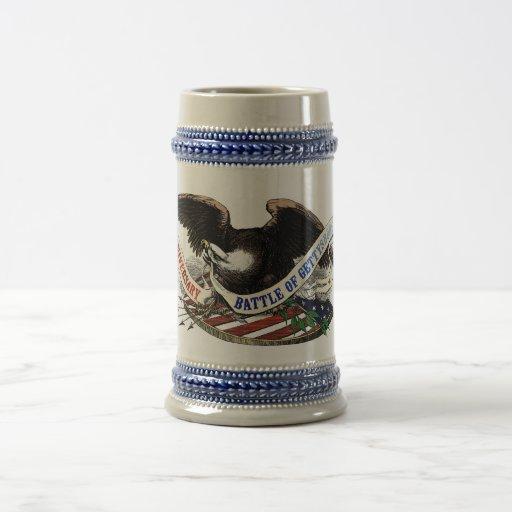 150th Gettysburg Beer Stein Coffee Mugs