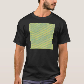 15123 GREEN MINT CHECKERED SQUARES PATTERN BACKGRO T-Shirt