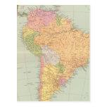 15152 South America political Post Card
