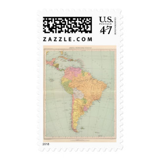 15152 South America political Postage