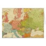 1516 etnográficos europeos tarjetas