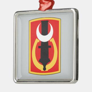 151st Field Artillery Brigade Square Metal Christmas Ornament