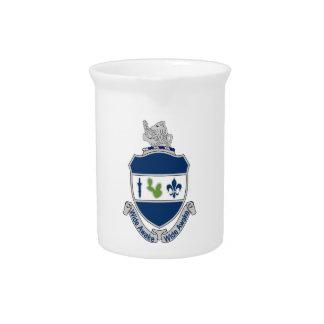 151st Infantry Regiment - Wide Awake Beverage Pitcher