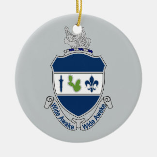 151st Infantry Regiment - Wide Awake Ceramic Ornament