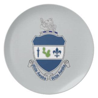 151st Infantry Regiment - Wide Awake Dinner Plate