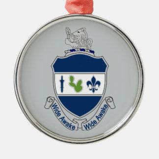 151st Infantry Regiment - Wide Awake Metal Ornament